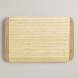 Bamboo Cutting Board: Natural by World Market