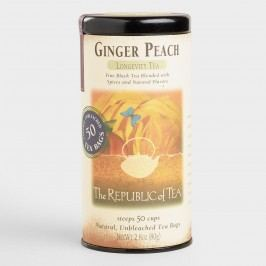 The Republic of Tea Ginger Peach Black Tea, 50-Count by World Market