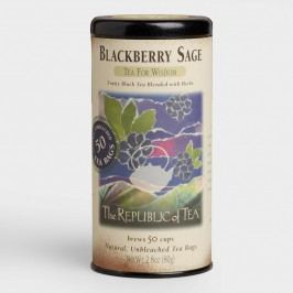 The Republic of Tea Blackberry Sage Black Tea, 50-Count by World Market