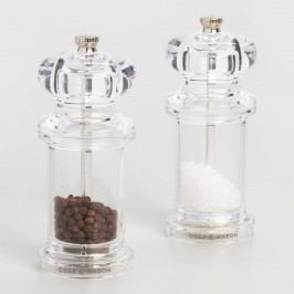 Cole & Mason Acrylic Salt and Pepper Mill Filled Set by World Market