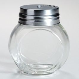 Round Spice Jars with Metal Shaker Lids, Set of 4 by World Market