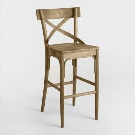 Bistro Barstool: Brown - Wood by World Market