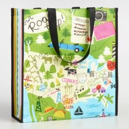 Road Trip Tote Bag: Green by World Market