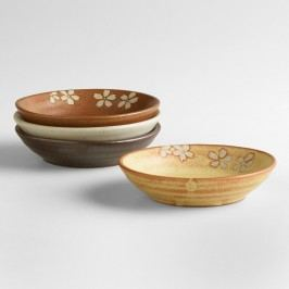 Fuji Dip Bowls, Set of 4: Multi - Ceramic by World Market