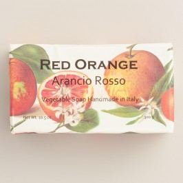 Red Orange Organic Italian Vegetable Soap by World Market