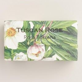 Tuscan Rose Organic Italian Vegetable Soap by World Market
