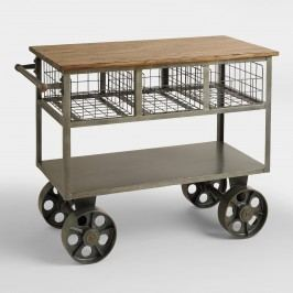 Bryant Mobile Kitchen Cart - Metal by World Market