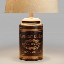 Black French Canister Accent Lamp - Metal by World Market