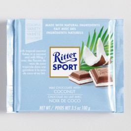 Ritter Sport Coconut Chocolate Bar, Set of 12 by World Market