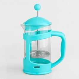 Aqua 3-Cup French Press: Blue by World Market