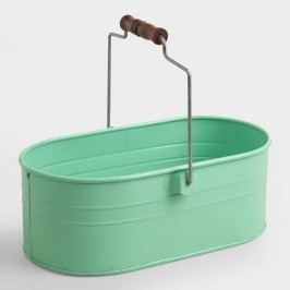 Mint Housekeeping Utility Bucket: Blue by World Market
