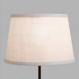 Marshmallow White Burlap Accent Lamp Shade by World Market
