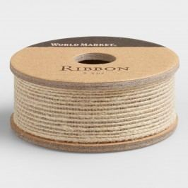 Brown Natural Woven Ribbon by World Market