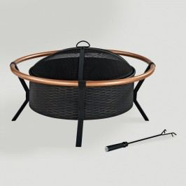 Yuma Fire Pit: Black by World Market