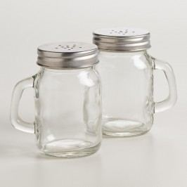 Mason Jar Salt and Pepper Shaker by World Market