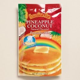 Hawaiian Sun Pineapple Coconut Pancake Mix Set of 6 by World Market