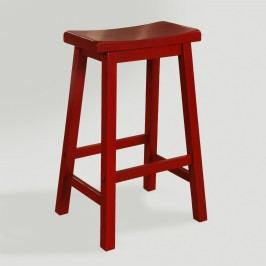 Red Schoolhouse Barstool - Wood by World Market