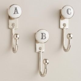 Monogram Letter Hooks - F by World Market F