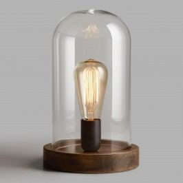 Edison Glass Cloche Table Lamp: Brown by World Market