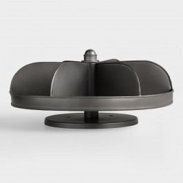 Hardware Bin Lazy Susan: Gray by World Market