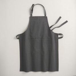 Pewter Gray Gourmet Classic Apron - Cotton by World Market