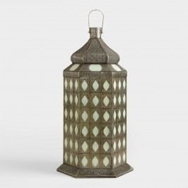 Tiled Tabletop Lantern - Glass by World Market