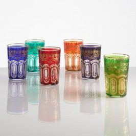 Moroccan Tea Glasses Set of 6 by World Market