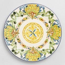 Peacock Dinner Plates, Set of 6 - Earthenware by World Market