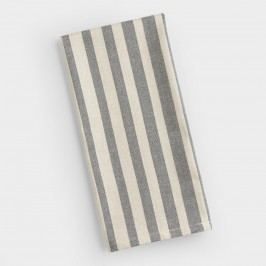 Gray Ombre Stripe Kitchen Towel by World Market