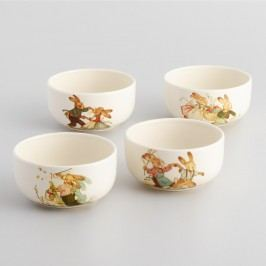 Nestler Vintage-Style Bunny Bowls, Set of 4 by World Market
