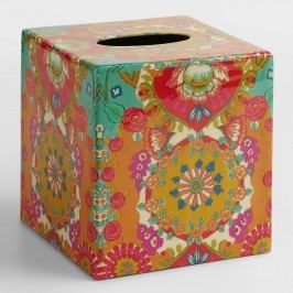 Bettina Floral Tissue Cover: Multi by World Market