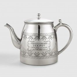 Perfectly Brewed Stainless Steel Teapot by World Market