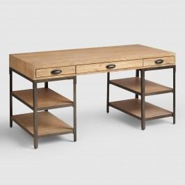 Wood and Metal Teagan Desk by World Market