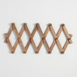 Wood Accordion Wall Storage: Natural by World Market