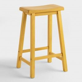 Yellow Schoolhouse Barstool by World Market