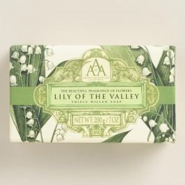 AAA Lily of the Valley Bar Soap, Set of 2 by World Market