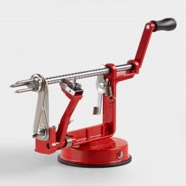 Red Enameled Cast Iron Apple Peeler, Slicer and Corer by World Market
