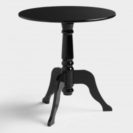 Black Acrylic Zella Accent Table by World Market