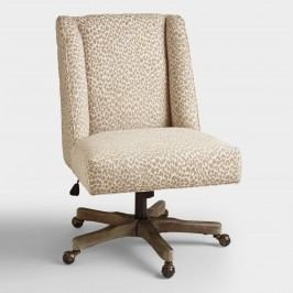 Mali Ava Upholstered Office Chair - Fabric by World Market
