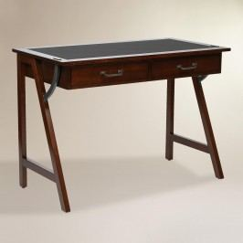 Wood Darcel Writing Desk: Brown by World Market