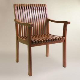 Wood Catania Armchair: Brown by World Market