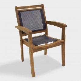 Wood Galena Stacking Armchair: Brown by World Market