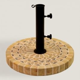 Matte Stone Umbrella Base: Natural - Fabric by World Market