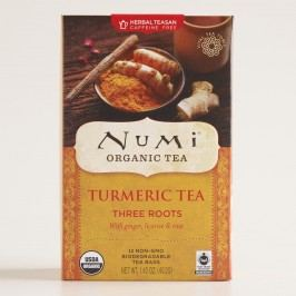 Numi Three Roots Turmeric Tea, 12-Count by World Market