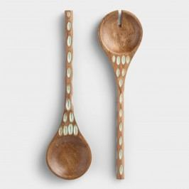 Ocean Wave Salad Servers Set of 2 by World Market