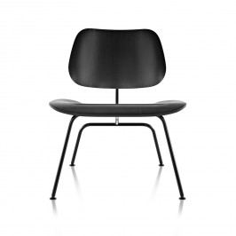 Eames Molded Plywood Lounge Chair - Metal Base