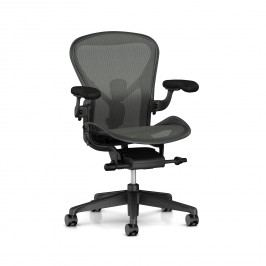 Aeron Chair - Graphite Fully Adjustable Size B